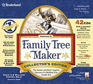 Family Tree Maker Deluxe Collector's Edition 8.0