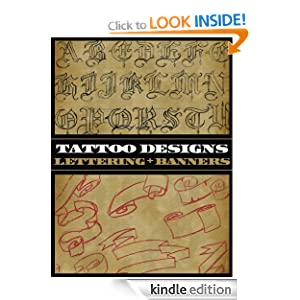 tattoo designs lettering and banners ebook superior tattoo kindle store. Black Bedroom Furniture Sets. Home Design Ideas