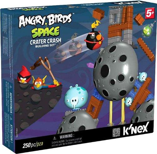 Imagen de Espacio de Angry Birds KNEX Exclusive Set # 72437 Edificio Crash Cráter