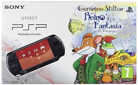 PSP Pack Geronimo Stilton+PSP E1000