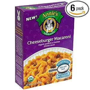 organic cheese burger macaroni