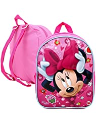 "Disney Minnie Mouse Childrens Mini 10"" Backpack"