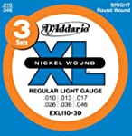 D'Addario EXL110-3D XL Nickel Wound R...