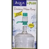 ETijaarath Aqua Plus Manual Hand Press Water Dispenser Pump For 20 Litre Bottles Extra Adapter For Threader Containers...