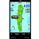 GolfBuddy GB3-PT4 Golf GPS/Rangefinder, Silver, Adjustable