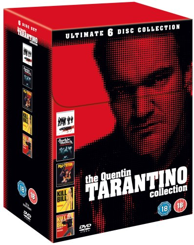 Tarantino Collection (Reservoir Dogs/Pulp Fiction/Jackie Brown/Kill Bill/Kill Bill 2) [Edizione: Regno Unito]