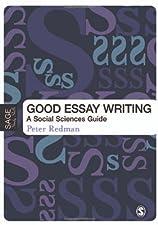 Good essay writing redman p