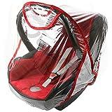 Rain Cover To Fit Maxi-Cosi cabriofix & pebble raincover Fast Dispatch New VENTILATED (red)