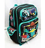 16 Phineas and Ferb Doo Bee Doo Bee Large Backpack-tote-bag-school