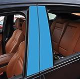 6x matt lichtblau T�rzierleisten Verkleidung B S�ule T�rs�ule passend f�r Ihr Fahrzeug , geben Sie Ihrem Fahrzeug kosteng�nstig ein sportlichen Touch