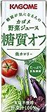 カゴメ 野菜ジュース 糖質オフ 200ml×24本 ランキングお取り寄せ