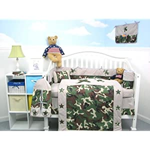 camouflage toddler bedding set