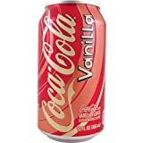 Coca Cola Vanilla 12 FL OZ (355 ml) - 6 Cans