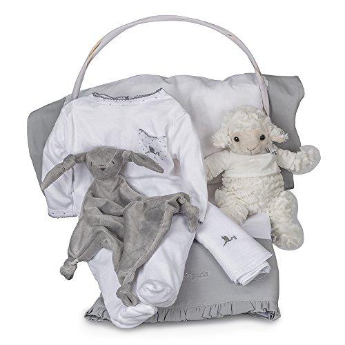Canastilla-de-beb-Serenity-Esencial-de-BebeDeParis-Gris-cesta-regalo-para-recin-nacido