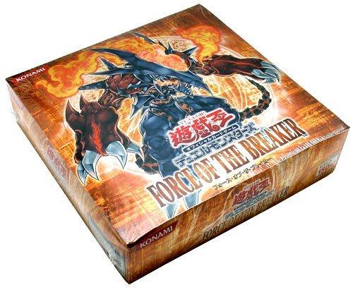 遊戯王 デュエルモンスターズ FORCE OF THE BREAKER  BOX
