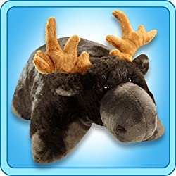 My Pillow Pet Chocolate Moose - Large (Brown)