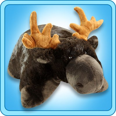 My Pillow Pet Chocolate Moose - Large (Brown) - 5170uaPYxSL - My Pillow Pet Chocolate Moose – Large (Brown)