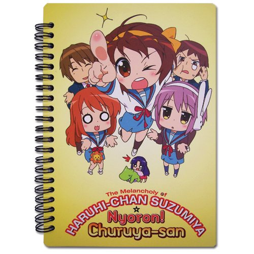 Haruhi Chan Harui Chan Notebook - 1