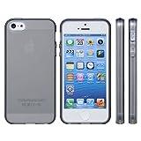 mtmd decolor tpuハードシリコン iphone5/5sケース (全16種類)さらさらタイプ/スモーク