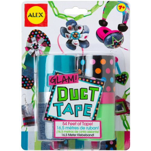 ALEX Toys Do-it-Yourself Wear Glam Duct Tape Kit
