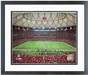 Atlanta Falcons Georgia Dome Photo 12.5 x 15.5 Framed by NFL