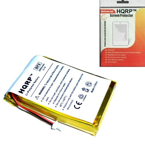 1500mAh Internal Battery for Garmin iQue 3200 , 3600 , 3600a GPS PDA + 2 Type Screwdrivers and Installation Manual