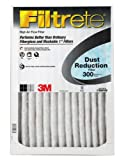 Filtrete Dust Reduction Filter, 300 MPR, 20-Inch by 20-Inch by 1-Inch, 6-Pack