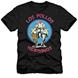 Breaking Bad Men's Los Pollos Hermanos T-Shirt, Black, Large