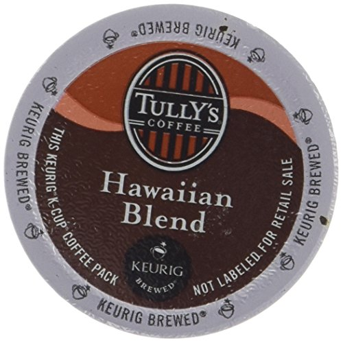 Tully's Hawaiian Blend Extra Bold Coffee Keurig K-Cups, 24 Count (K Cups Coffee Hawaiian Blend compare prices)