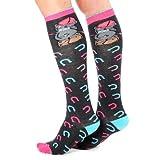 Me to You Bear Knee High Horse Shoe Riding Socks