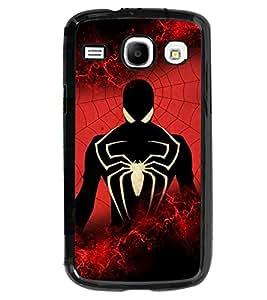 Fuson 2D Printed Spider Designer back case cover for SAMSUNG GALAXY CORE I8262 / I8260 - D4268