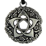 Pentacle of the Goddess Wiccan Jewelry Pagan Pentagram Necklace