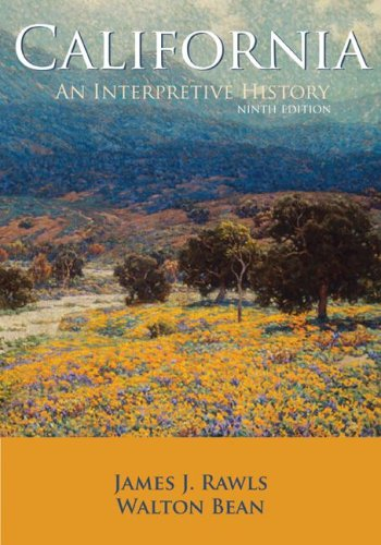 California: An Interpretive History with Map Poster