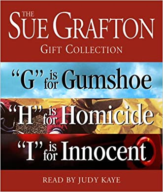 """Sue Grafton GHI Gift Collection: """"G"""" Is for Gumshoe, """"H"""" Is for Homicide, """"I"""" Is for Innocent (A Kinsey Millhone Novel)"""