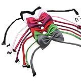 2PCS Dog Cat Bow Tie Necktie Collar tie Random color