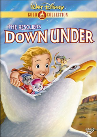 "Cover of ""The Rescuers Down Under (Disney..."