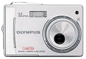 Olympus Camedia D630 5MP Digital Camera with 3x Optical Zoom