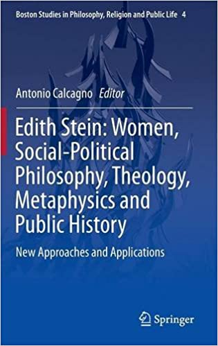 Edith Stein: Women, Social-Political Philosophy, Theology, Metaphysics and Public History. New Approaches and Applications Book Cover
