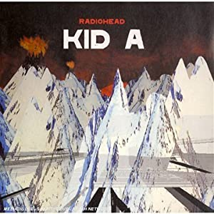 "Cover of ""Kid A"""