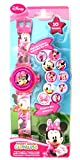 Girls/Childrens Pink Digital Minnie Mouse Watch With Lights Age 3+ - Pink Multi - UK 1-1