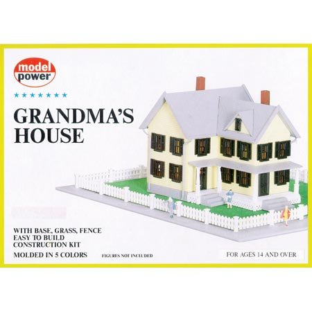 HO KIT Grandma's House - Buy HO KIT Grandma's House - Purchase HO KIT Grandma's House (Model Power, Toys & Games,Categories,Play Vehicles,Trains & Railway Sets)