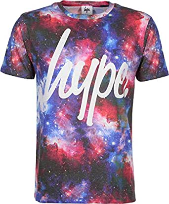 Hype intergalactic tee t shirt mens sublimated t shirt for Galaxy white t shirts wholesale