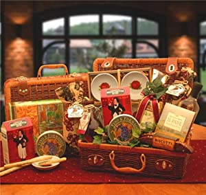 Italian Gift Hamper of Bon Appetite Italian Treats Italian Gift Basket