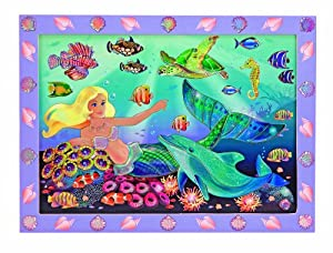 Melissa & Doug Peel And Press Sticker by Number - Mermaid Reef