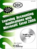 img - for Learning Accounting Applications with Microsoft Excel 2000 (Office 2000 Learning Series) book / textbook / text book