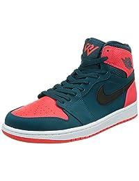 Nike Men's Air Jordan Retro 1 Hightop Basketball Shoe