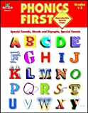 img - for Phonics First, Grades 1-3: Special Sounds, Blends and Diagraphs, Special Vowels (Phonics First (Milliken)) book / textbook / text book