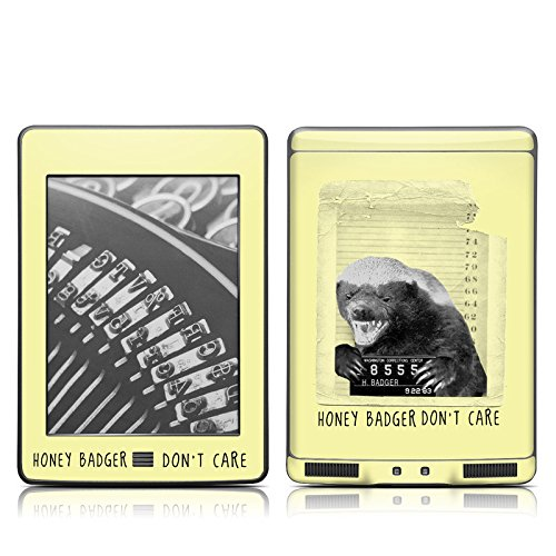 Mugshot Design Protective Decal Skin Sticker For Amazon Kindle Touch / Touch 3G (6 Inch Ink Display With Multi-Touch)