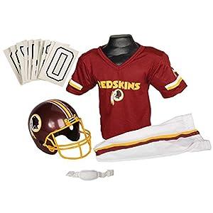 Franklin Sports NFL Washington Redskins Youth Licensed Deluxe Uniform Set, Large