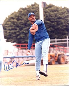Chris Chambliss Autographed  Original Signed 8x10 Color Photo Showing him With the... by Original Sports Autographs